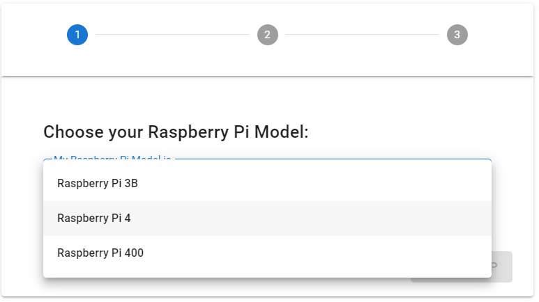 Select your Raspberry Pi Model in the interactive overclocking tool